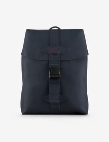 Armani FAUX-LEATHER BACKPACK