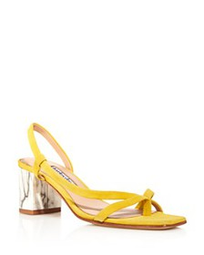 Charles David - Women's Clay Strappy Mid-Heel Sand