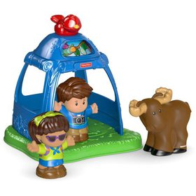 Fisher-Price Little People Going Camping, Look at