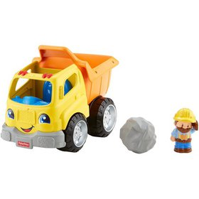 Fisher-Price Little People Dump Truck, Press down