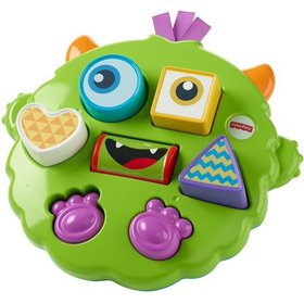 Fisher-Price Silly Sortin' Monster Puzzle, 4 remov