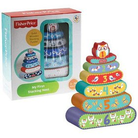 Fisher-Price My First Stacking Nest Puzzle By Fish