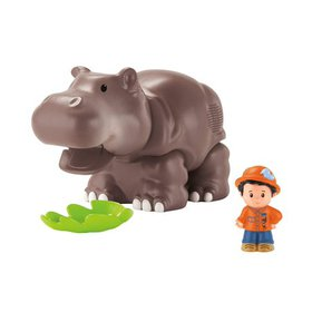 Fisher-Price Little People Hippo, Open wide! Munch