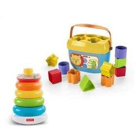 Fisher-Price Rock-a-stack and Baby's First Blocks