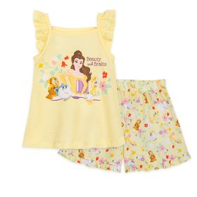 Disney Beauty and the Beast Short Sleep Set for Gi