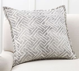 Pottery Barn Dinah Reversible Pillow Cover