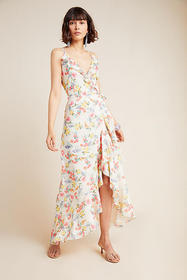 Anthropologie Yumi Kim Meadow Wrap Maxi Dress