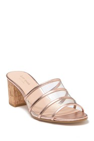 kate spade new york whitby clear strap mule