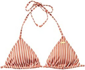 Roxy Sandy Treasure Tiki Tri Swim Top