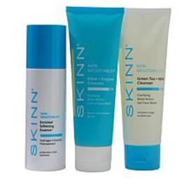 Skinn® Cosmetics 3-piece Non-Negotiables Cleanser