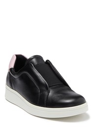 ECCO Soft 4 Leather Slip-On Sneaker