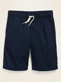 Twill Pull-On Jogger Shorts for Boys