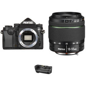Pentax KP DSLR Camera with 18-55mm Lens and Batter