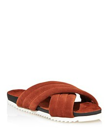 Charles David - Women's Lye Crossband Slide Sandal