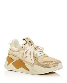 PUMA - Women's RS-X Winter Glimmer Low-Top Sneaker