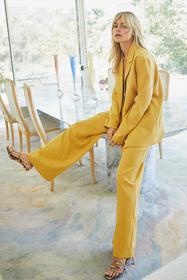 Nasty Gal Mustard Suits You Wide-Leg Pants