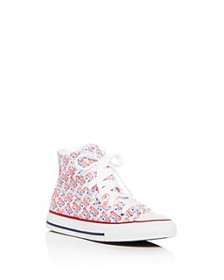 Converse - Girls' License Plate High-Top Sneakers