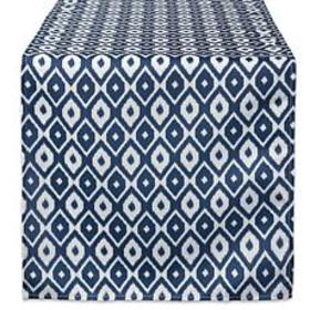 """Design Imports 14"""" x 108"""" IKAT Outdoor Table Runne"""