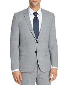 HUGO - Astian Textured Solid Extra Slim Fit Suit J