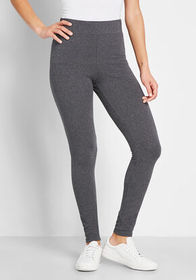 Stating the Basics Leggings Charcoal Grey
