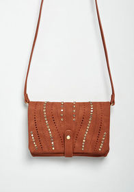 Really Stud Out Crossbody Bag Brown