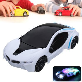 Funny Flashing Music Racing Car Electric Automatic
