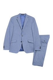 Kenneth Cole Reaction Chambray Stretch Performance