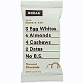 RxBar Coconut Chocolate Bar, 1.83 oz, Box of 12 (C