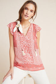 Anthropologie DOLAN Collection Kelsey Blouse