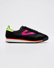 Tretorn Rawlin S10 Neon Suede Sneakers