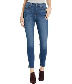 7 For All Mankind High-Waist Ankle Skinny Side Sni
