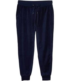 Bebe Sport Velour Joggers with Rivet Stud Logo