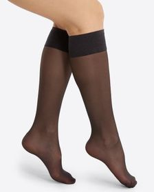 Spanx Sheer Hi-Knee Socks - Two Pack!