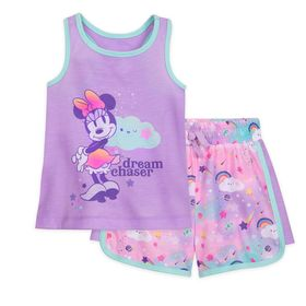 Disney Minnie Mouse Short Sleep Set for Girls