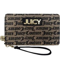 Juicy Couture Pipe Dream Wallet w\u002F Wrist Stra