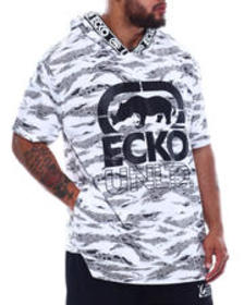 Ecko savage style s/s hooded knit (b&t)