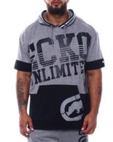 Ecko big timer s/s hooded knit (b&t)