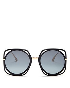 Dior - Women's Dior Direction Square Sunglasses, 5