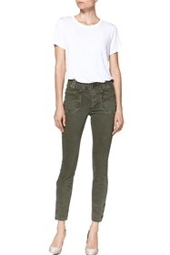 PAIGE Utilitarian Hoxton Raw Ankle Crop Ultra Skin