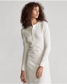 Ralph Lauren Cotton Henley Dress