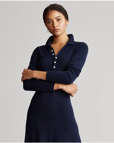 Ralph Lauren Cashmere A-Line Dress