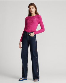 Ralph Lauren Ulta Stretch Wide-Leg Jean