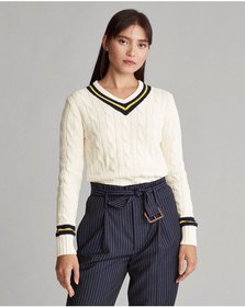 Ralph Lauren Long-Sleeve Cricket Sweater