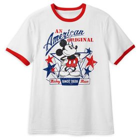 Disney Mickey Mouse Americana T-Shirt for Men