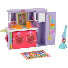Fisher-Price Loving Family Laundry Room Playset, F
