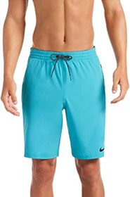"""Nike 9"""" Logo Tape Racer Volley Shorts"""