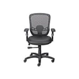Staples Corvair Mesh Back Luxura Faux Leather Comp