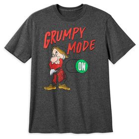 Disney Grumpy T-Shirt for Men – Snow White and the