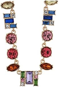 GUESS Mixed Colored Stone Collar Necklace