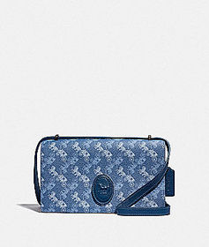 Coach camille crossbody with horse and carriage pr
